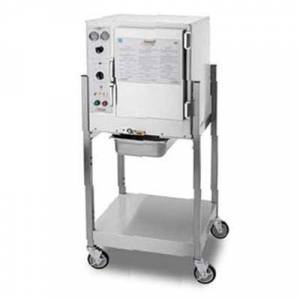 Accutemp S64803D140SGL (6) Pan Convection Steamer - Stand, Holding Capabilty, 480v/3ph