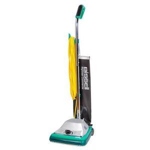 "Bissell ""Bissell BG101 12"""" ProShake Commercial Vacuum w/ Comfort Grip Handle - 870 Watts, Chrome"""