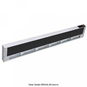"Hatco ""Hatco GRAIHL-24 24"""" High Watts Infrablack Strip Warmer - Single Rod, Remote Control Required, 120v"""
