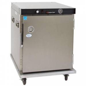 Cres Cor H-339-UA-8C 1/2 Height Insulated Mobile Heated Cabinet w/ (8) Pan Capacity, 120v