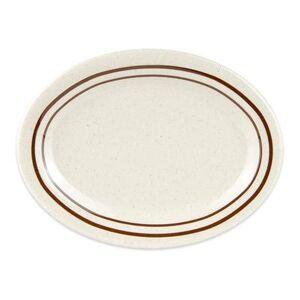 """GET """"GET OP-950-U Melamine Serving Platter - 9 3/4"""""""" x 7 1/4"""""""", White"""""""