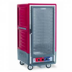 Metro C537-HFC-L 3/4 Height Insulated Mobile Heated Cabinet w/ (27) Pan Capacity, 120v