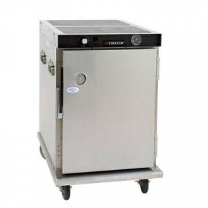 Cres Cor H-339-188C 1/2 Height Insulated Mobile Heated Cabinet w/ (8) Pan Capacity, 120v