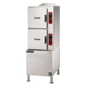 Vulcan C24ET10 (10) Pan Convection Steamer - Cabinet, 208v/3ph