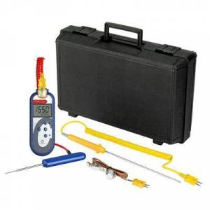 Comark C48/P6 Food Thermometer Kit w/ PK19M Probe - Type K