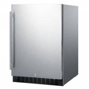 "Summit ""Summit FF64BCSS 23 5/8"""" W Undercounter Refrigerator w/ (1) Section & (1) Door, 115v"""