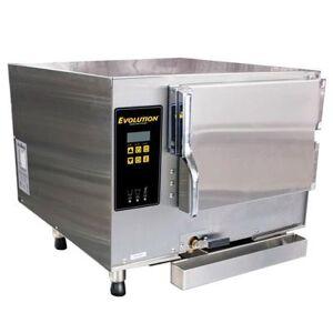 Accutemp E34803E140 (3) Pan Convection Steamer - Countertop, Boilerless, 480v/3ph