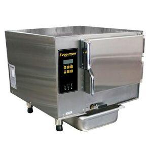 Accutemp E34803D140 (3) Pan Convection Steamer - Countertop, Boilerless, 480v/3ph
