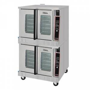 Garland MCO-GD-20 Double Full Size Liquid Propane Gas Convection Oven - 120,000 BTU