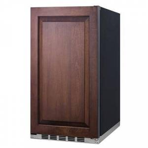 """Summit """"Summit FF195IF 19""""""""W Undercounter Refrigerator w/ (1) Section & (1) Solid Door - Panel Ready, 115v"""""""