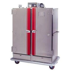 Carter-Hoffmann BB1300XX Heated Banquet Cart - (120) Plate Capacity, Stainless, 120v