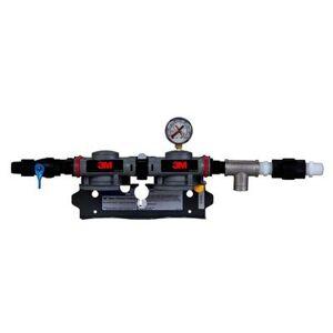 3M Cuno 6228503 DP2XX Dual Port Twin Manifold Assembly