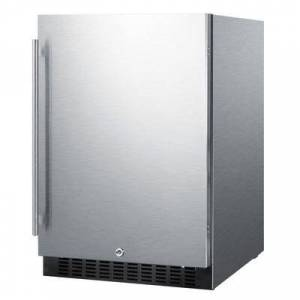 "Summit ""Summit SPR627OS 24"""" W Undercounter Refrigerator w/ (1) Section & (1) Door, 115v"""