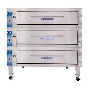 Bakers Pride ER-3-12-5736 Triple Deck Bake/Roast Oven, 208v/3ph