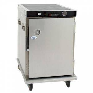 Cres Cor H-339-12-188C 1/2 Height Insulated Mobile Heated Cabinet w/ (8) Pan Capacity, 120v