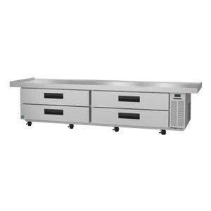 "Hoshizaki ""Hoshizaki CR110A SteelHeart 110 1/2"""" Chef Base w/ (4) Drawers, 115v"""