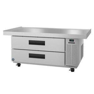 "Hoshizaki ""Hoshizaki CR60A SteelHeart 60 1/2"""" Chef Base w/ (2) Drawers, 115v"""