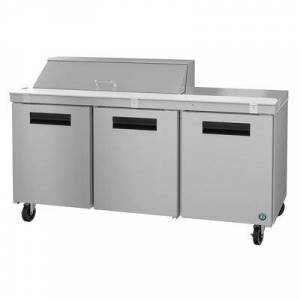 "Hoshizaki ""Hoshizaki SR72A-12 SteelHeart 72"""" Sandwich/Salad Prep Table w/ Refrigerated Base, 115v"""