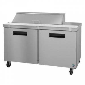 "Hoshizaki ""Hoshizaki SR60A-12 SteelHeart 60"""" Sandwich/Salad Prep Table w/ Refrigerated Base, 115v"""
