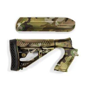 Adaptive Tactical Mossberg 500, 590, Maverick 88 EX Performance Forend and Adjustable Stock 12 Gauge Polymer