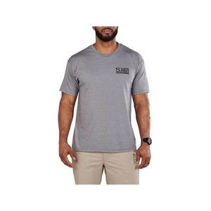 5.11 Men's Locked and Logoed Short Sleeve T-Shirt