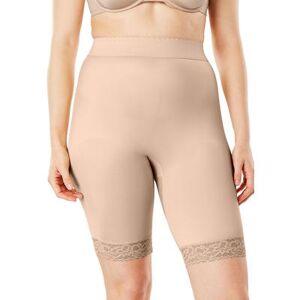 Rago Plus Size Women's Moderate Control Thigh Slimmer 518 by Rago in Beige (Size 10X)