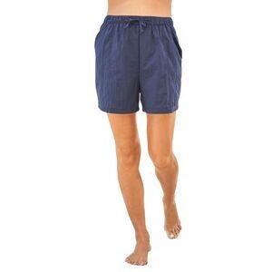 Swim 365 Plus Size Women's Taslon Coverup Bottom with Elastic Waist by Swim 365 in Navy (Size 18/20)