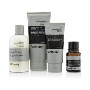 Anthony Logistics For Men The Perfect Shave Kit: Cleanser