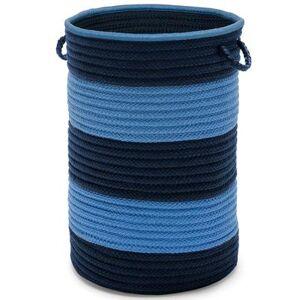 Colonial Mills Tyson Stripe Hamper by Colonial Mills in Blue (Size 16X16X20)
