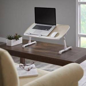 BrylaneHome Folding Laptop Desk by BrylaneHome in Natural