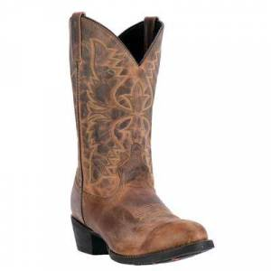 Laredo Men's Laredo Birchwood Cowboy Boots by Laredo in Tan (Size 15 M)