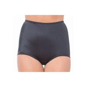 Rago Plus Size Women's Panty Brief Light Shaping by Rago in Black (Size 10X)