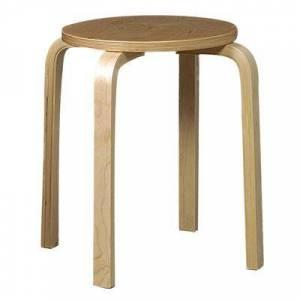 """Linon Home Dcor """"17"""""""" Bentwood Stool, Set of 4 by Linon Home Dcor in Natural"""""""