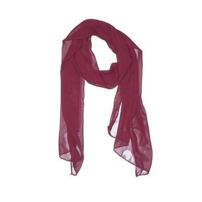 Jordan Fashions Scarf: Burgundy Solid Accessories