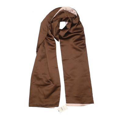 Formal Fashions Scarf: Brown Solid Accessories