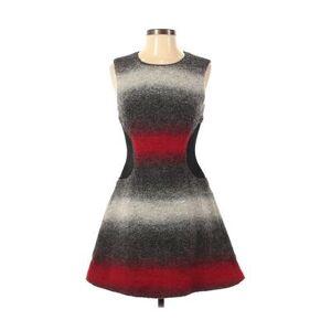 Sachin + Babi Casual Dress - A-Line: Black Print Dresses - Used - Size 2