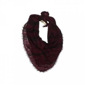 Burberry Scarf: Burgundy Solid Accessories