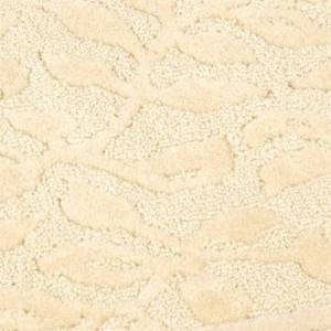 Mohawk Rug & Textiles Wellington Nylon Bath Rug Runner, 2' x 9', Light Cream