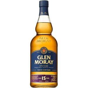 Glen Moray Distillery Glen Moray Scotch Single Malt Heritage 15 Year 750ml