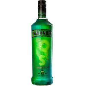Smirnoff Sours Vodka Green Apple 1.00L