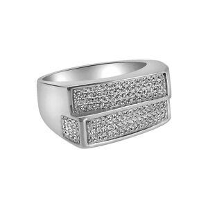 HipHopBling .52 Carat Diamond Double Bar Ring