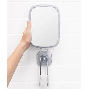 OXO Makeup Mirrors - Good Grips Suction Cup Fogless Shower Mirror