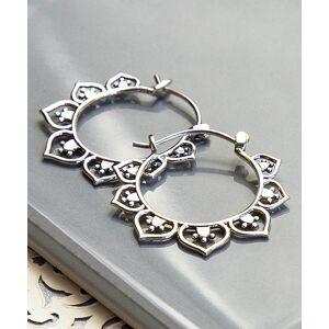 Jackson Martha Jackson Women's Earrings silver - Sterling Silver Marrakesh Hoop Earrings