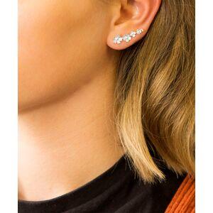 Jackson Martha Jackson Women's Earrings silver - Sterling Silver Forget Me Not Ear Climbers