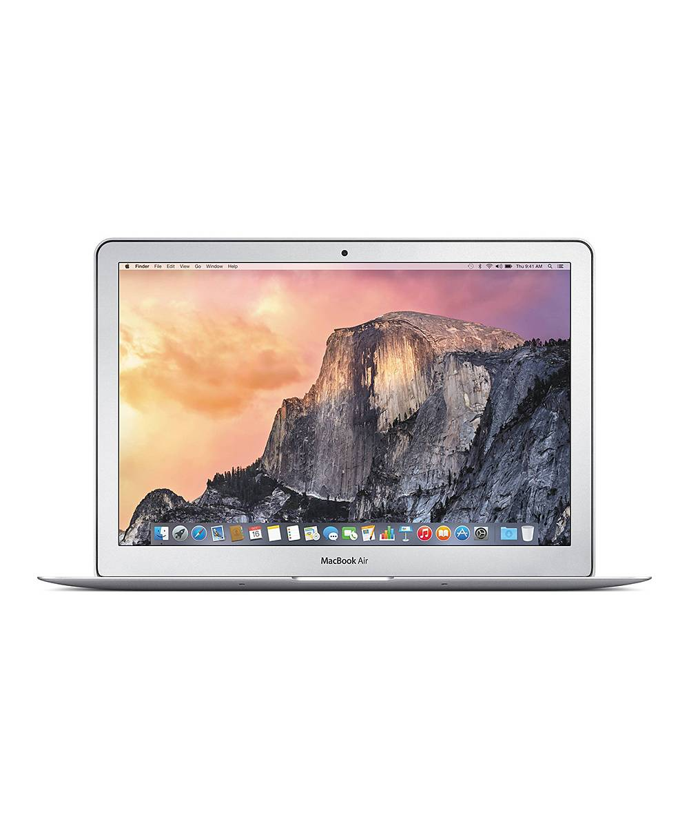 """Apple Laptop Computers Silver - Refurbished 2013 1.4-GHz Intel Core i5 128-GB SSD 4-GB 13"""" Macbook A"""