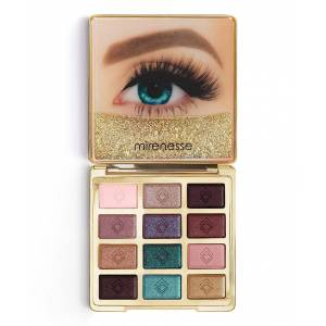 Mirenesse Australia Women's Eyeshadow 1. - Solid Gold Anniversary Eyeshadow Palette