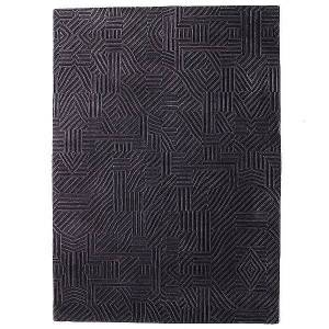 Nanimarquina African Pattern Rug by Nanimarquina - Color: Grey (01MILAFR300005)