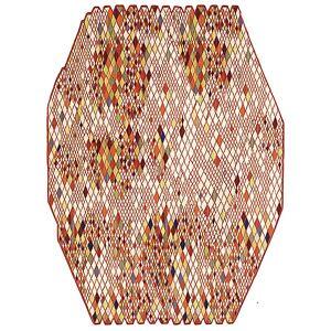 Nanimarquina Losanges Rug by Nanimarquina - Color: Beige (01LOS00000004)