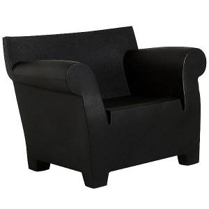 Kartell Bubble Club Armchair by Kartell - Color: Black (6070/09)