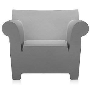 Kartell Bubble Club Armchair by Kartell - Color: Grey (6070/61)
